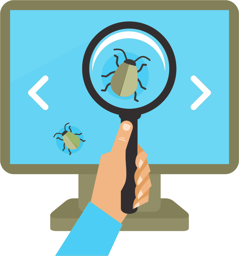 Website audits help discover bugs