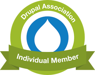 Drupal Development services badge